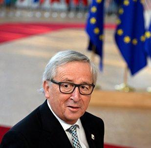 O πρόεδρος της Ευρωπαϊκής Επιτροπής Ζαν-Κλοντ Γιούνκερ