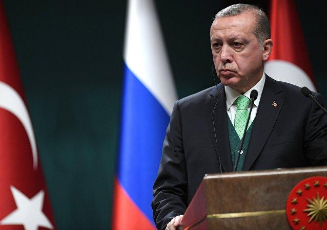 Ο Τούρκος πρόεδρος Ερντογάν