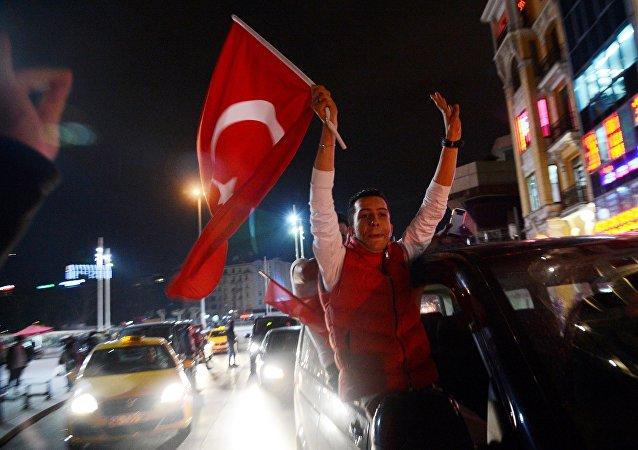 Υποστηρικτές του Ερντογάν στην Τουρκία