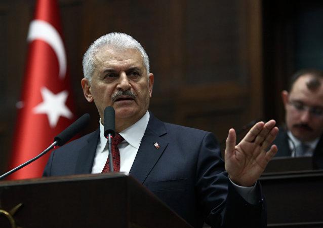 Ο Τούρκος πρωθυπουργός Μπιναλί Γιλντιρίμ