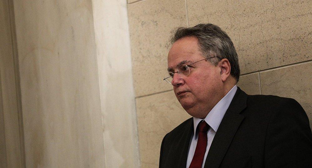Ο υπουργός Εξωτερικών Νίκος Κοτζιάς