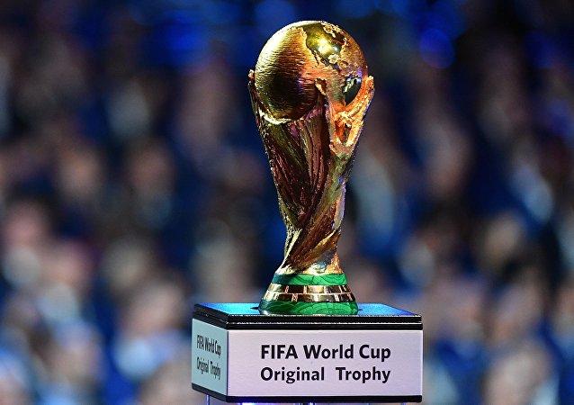 Το τρόπαιο του Παγκοσμίου Κυπέλλου