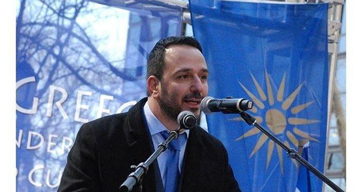 Ο Δημήτρης Φιλιππίδης