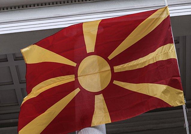 Η σημαία της πΓΔΜ