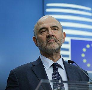 Ο Ευρωπαίος Επίτροπος για τις Οικονομικές Υποθέσεις Πιέρ Μοσκοβισί