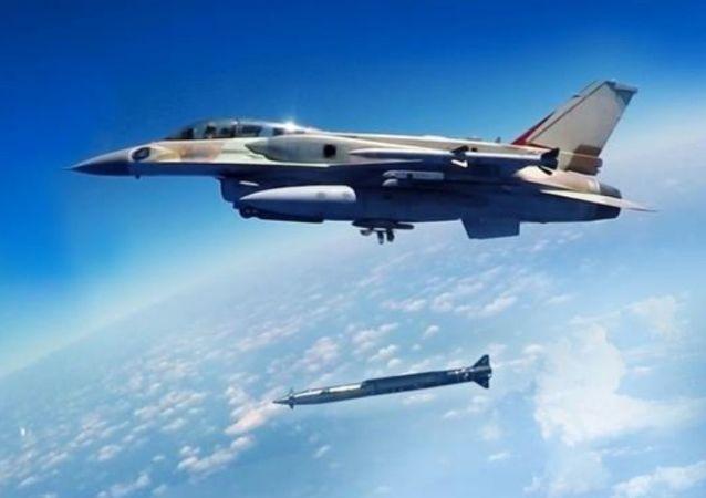 Ισραηλινό μαχητικό με υπερηχητικό βλήμα αέρος-εδάφους Rampage