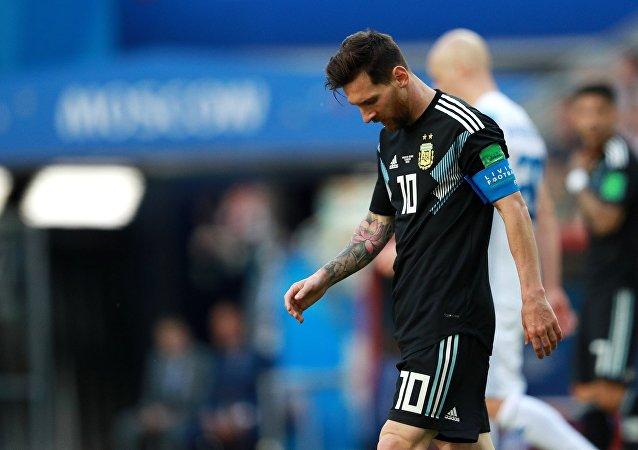 Λιονέλ Μέσι, Αργεντινή - Ισλανδία 1-1