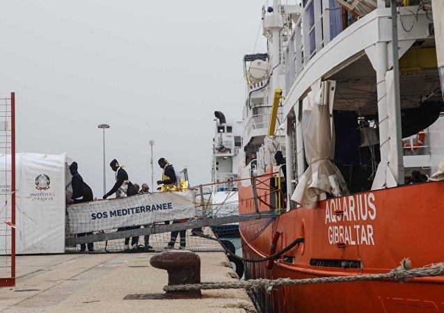 Το πλοίο Aquarius