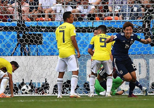 Γιούγια Οσάκο, Ιαπωνία - Κολομβία 2-1