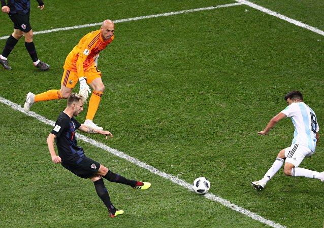 Ιβάν Ράκιτιτς, Βίλι Καμπαγέρο, Μάρκος Ακούνια, Αντρέι Κράμαριτς, Αργεντινή - Κροατία 0-3, Παγκόσμιο Κύπελλο 2018, Ρωσία