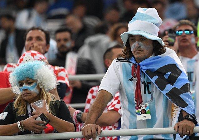 Φίλαθλοι Αργεντινής, Παγκόσμιο Κύπελλο 2018, Ρωσία