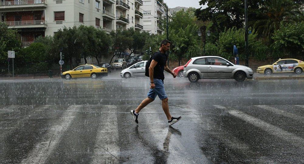 Βροχές στην Αθήνα