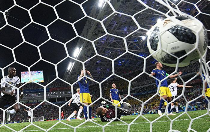 Τόνι Κρόος, Γερμανία - Σουηδία 2-1, Παγκόσμιο Κύπελλο 2018, Ρωσία