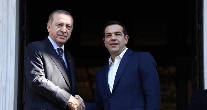 Ο Αλέξης Τσίπρας και ο Ρετζέπ Ταγίπ Ερντογάν