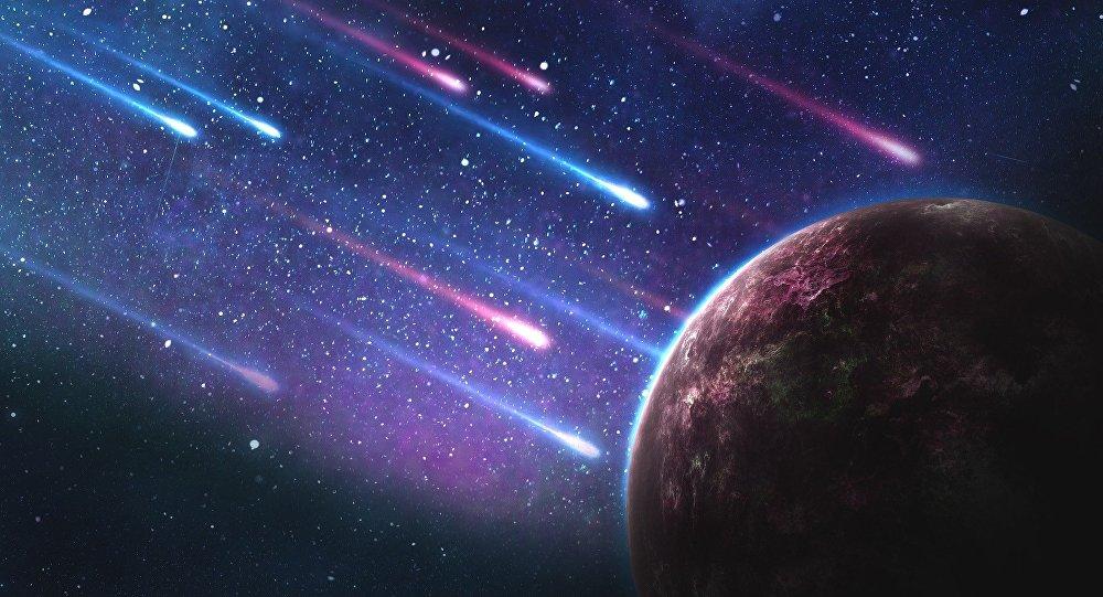 Μετεωρίτες κατευθύνονται σε πλανήτη