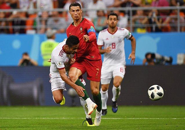 Κριστιάνο Ρονάλντο, Ιράν - Πορρτογαλία 1-1, Παγκόσμιο Κύπελλο 2018, Ρωσία