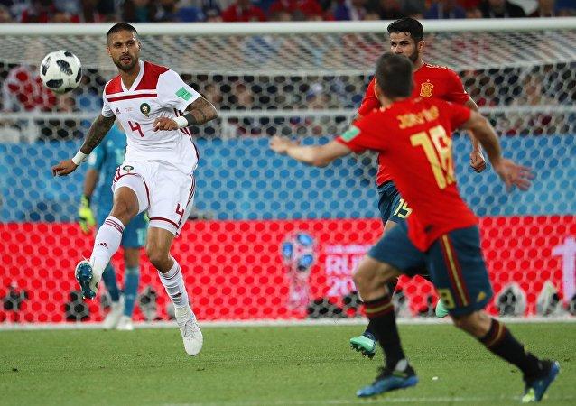 Ισπανία - Μαρόκο 2-2, Παγκόσμιο Κύπελλο 2018, Ρωσία