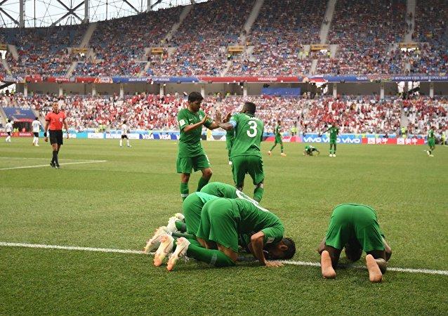 Σαουδική Αραβία - Αίγυπτος 2-1, Παγκόσμιο Κύπελλο 2018, Ρωσία