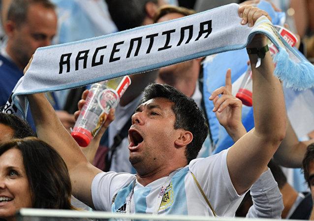 Φίλαθλος Αργεντινής, Νιγηρία - Αργεντινή 1-2, Παγκόσμιο Κύπελλο 2018, Ρωσία