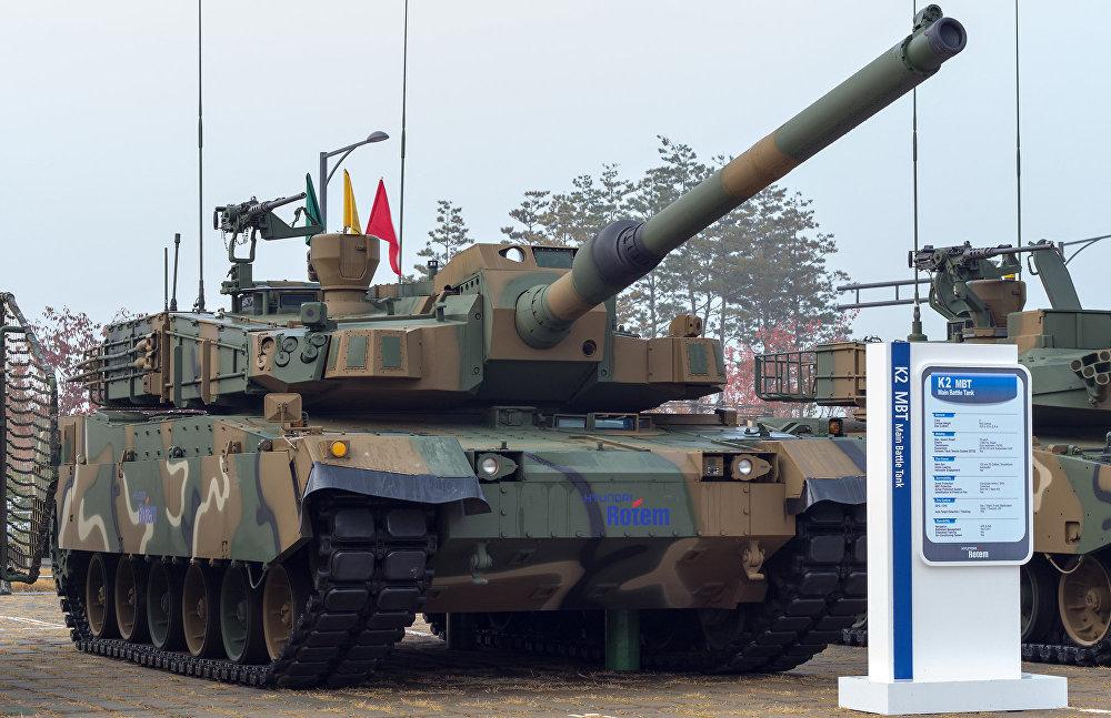 Το άρμα μάχης K2 Black Panther