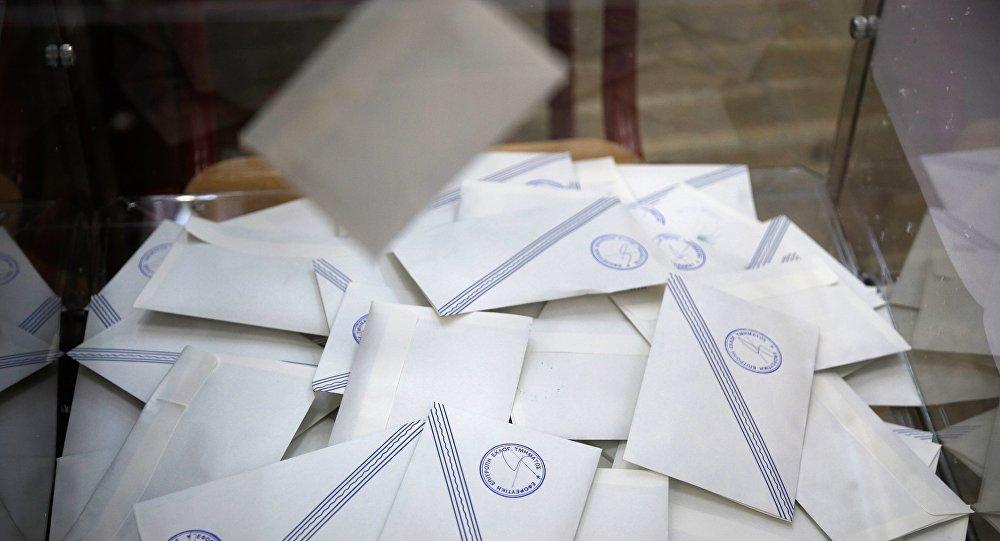 Ψηφοδέλτια σε κάλπη