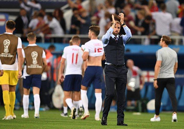 Γκάρεθ Σάουθγκεϊτ, Αγγλία - Βέλγιο 0-1, Παγκόσμιο Κύπελλο 2018, Ρωσία