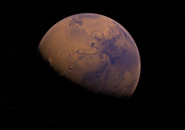Καλλιτεχνική απεικόνιση του Αρη