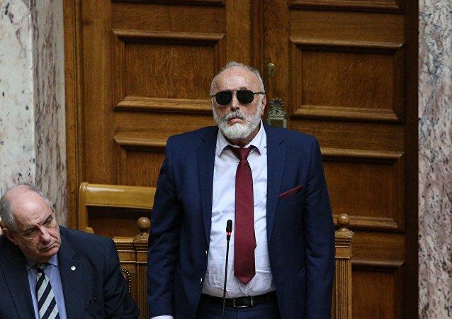 Ο υπουργός Ναυτιλίας Παναγιώτης Κουρουμπλής