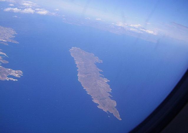 Η νήσος Μακρόνησος