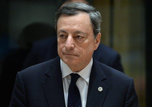 Ο επικεφαλής της ΕΚΤ, Μάριο Ντράγκι