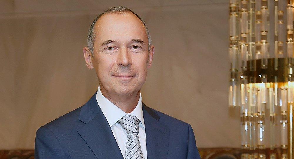 Ο Πρέσβης της Ρωσίας στην Ελλάδα, Αντρέι Μάσλοβ.