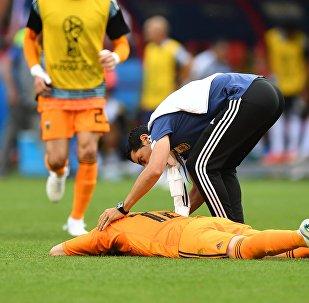 Φράνκο Αρμάνι, Γαλλία - Αργεντινή 4-3, Παγκόσμιο Κύπελλο 2018, Ρωσία