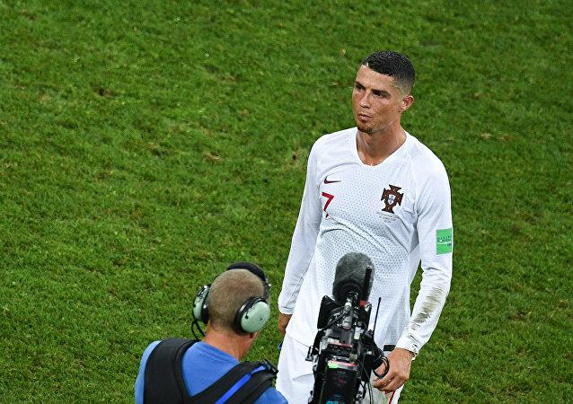 Κριστιάνο Ρονάλντο, Ουρουγουάη - Πορτογαλία 2-1, Παγκόσμιο Κύπελλο 2018, Ρωσία