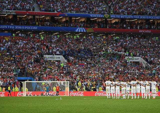 Ανδρές Ινιέστα, Ισπανία - Ρωσία, Παγκόσμιο Κύπελλο 2018, Ρωσία