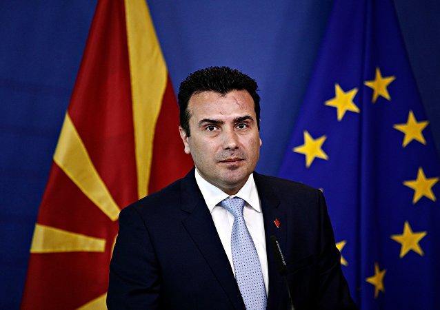Ο πρωθυπουργός της πΓΔΜ, Ζόραν Ζάεφ
