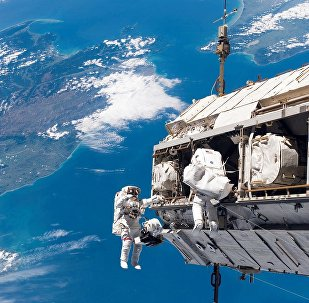 Αστροναύτες στο διάστημα
