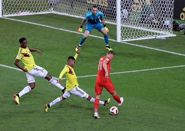 Τζέιμι Βάρντι, Κολομβία - Αγγλία, Παγκόσμιο Κύπελλο 2018