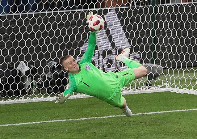 Τζόρνταν Πίκφορντ, Κολομβία - Αγγλία, Παγκόσμιο Κύπελλο 2018