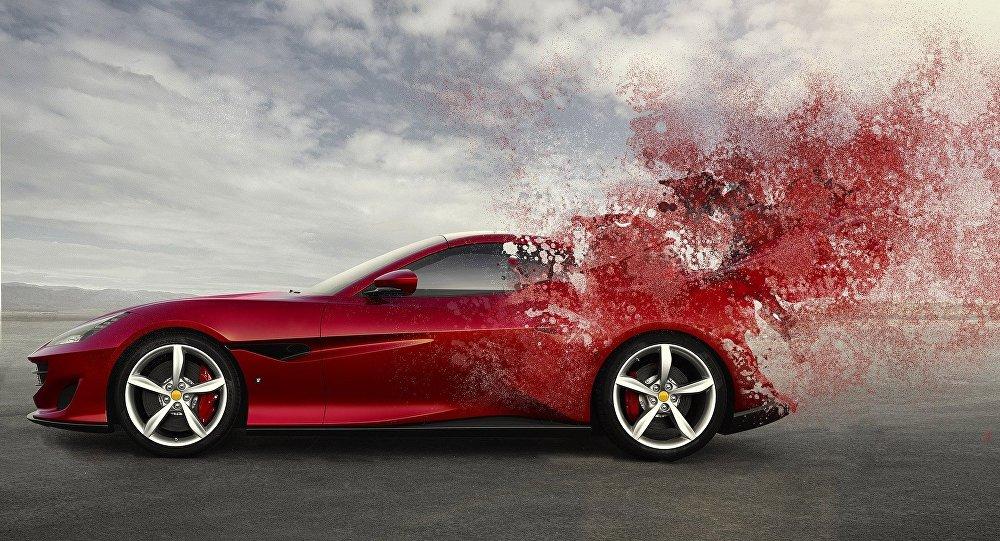 Κόκκινη Ferrari