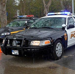 Περιπολικό της αστυνομίας στις ΗΠΑ