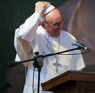 O πάπας Φραγκίσκος