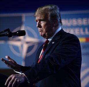 Ο Ντόναλντ Τραμπ στη σύνοδο του ΝΑΤΟ στις Βρυξέλλες