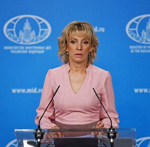 Η εκπρόσωπος Τύπου του υπουργείου Εξωτερικών της Ρωσίας Μαρία Ζαχάροβα
