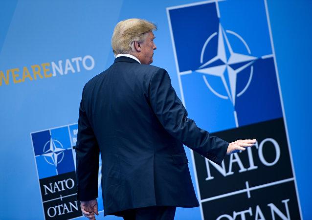 O Ντόναλντ Τραμπ στη Σύνοδο του ΝΑΤΟ στις Βρυξέλλες