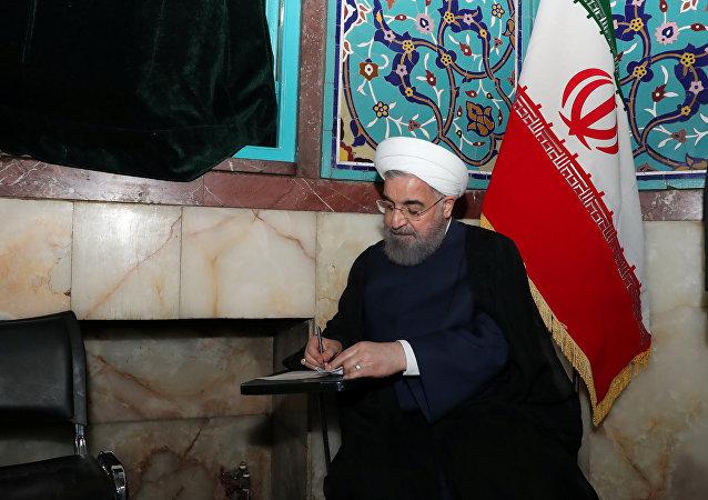 Ο πρόεδρος του Ιράν Χασάν Ρουχανί