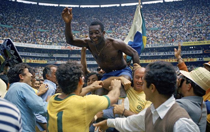 Πελέ, Βραζιλία, Παγκόσμιο Κύπελλο 1970