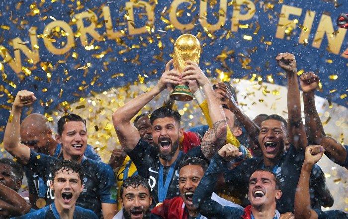Γαλλία - Κροατία, Παγκόσμιο Κύπελλο 2018, τελικός