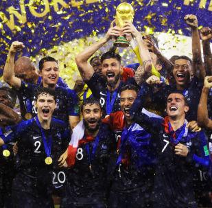 Η στέψη της παγκόσμιας πρωταθλήτριας Γαλλίας