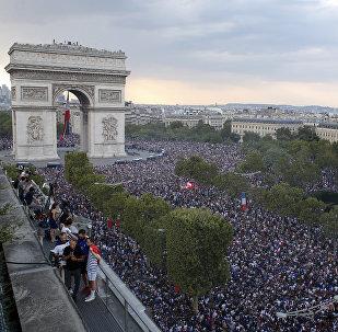 Παρίσι, πανηγυρισμοί για το Παγκόσμιο Κύπελλο
