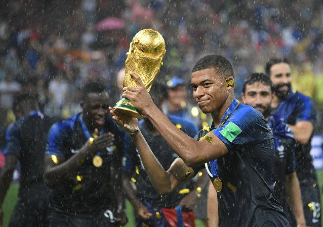 Κιλιάν Εμπαπέ, Γαλλία - Κροατία, Παγκόσμιο Κύπελλο 2018, τελικός